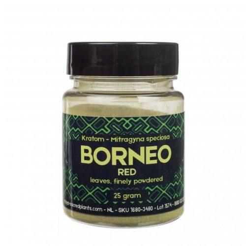 Kratom Poeder Borneo Red (Sacred Plants)