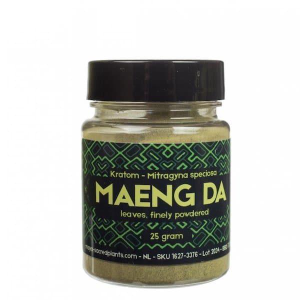 Kratom Poeder Maeng Da (Sacred Plants)