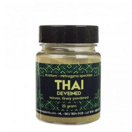 Kratom Poeder Thai Deveined (Sacred Plants)
