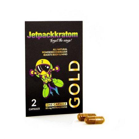 Kratom Capsules Gold (JetpackKratom)